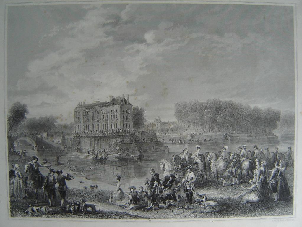 Château de L'Isle-Adam - partie de chasse du Prince de Conty_0