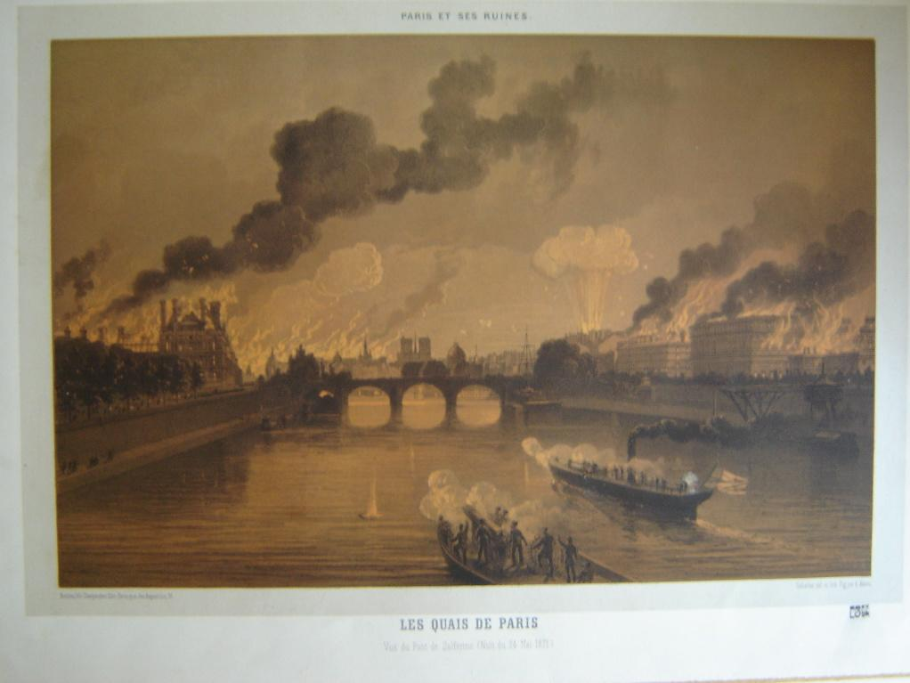 Les quais de Paris, vus du Pont de Solférino (nuit du 24 mai 1871)_0