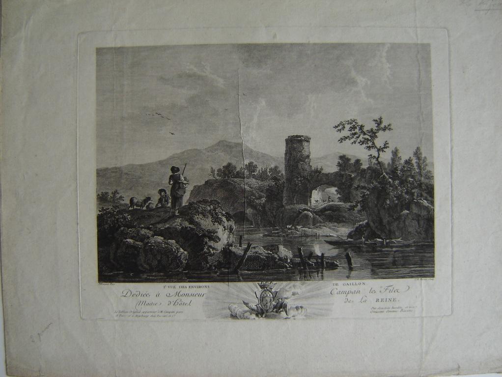Première vue des environs de Gaillon (Eure)