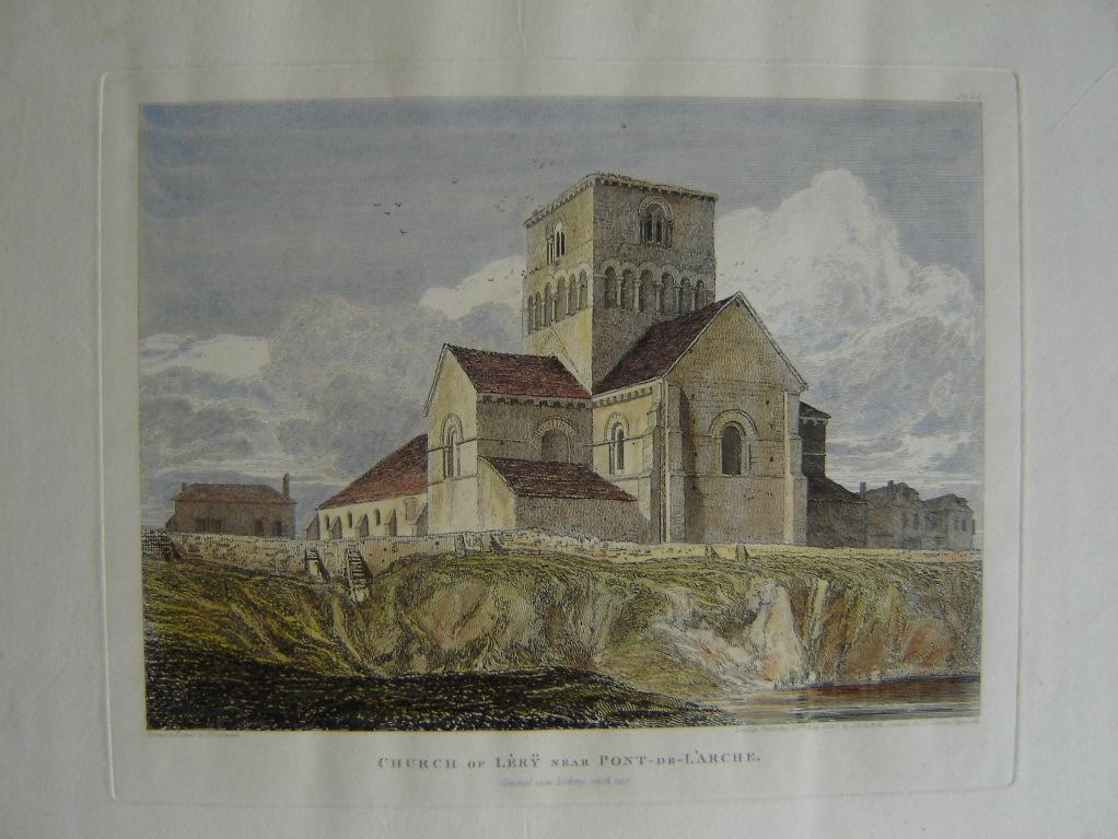 COTMAN John Sell : Church of Lery near Pont de l'Arche (general view looking south east)
