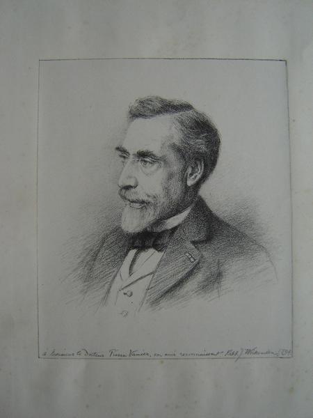 WICKENDEN Robert J : Portrait du Docteur Pierre Vanier