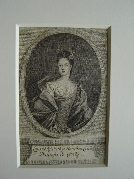 Portrait de Louise Elizabeth Bourbon Condé, Princesse de Conty_0
