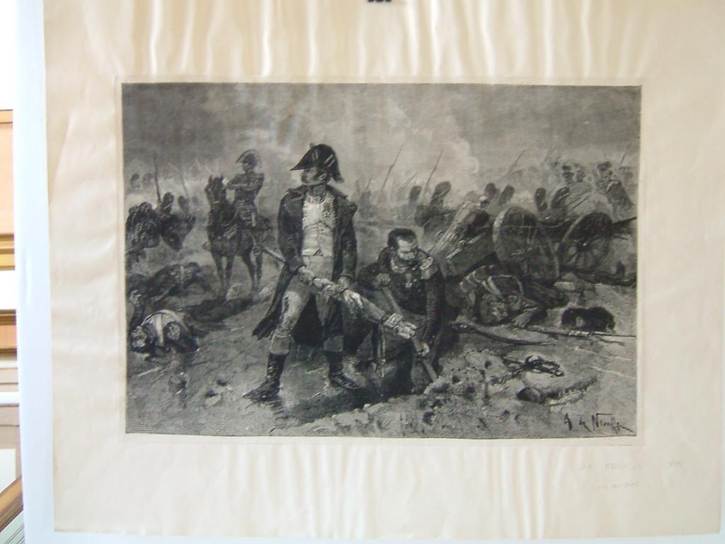 L'enterrement du drapeau, bataille de Waterloo_0