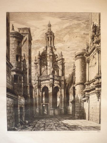 Lanterne du château de Chambord construite en 1533 par Pierre Nepveu dit Trinqueau_0