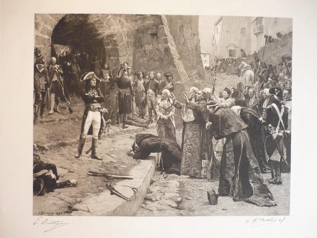 Supplication d'ecclésiastiques et d'aristocrates (italiens ?) auprès du général Bonaparte (factice)_0