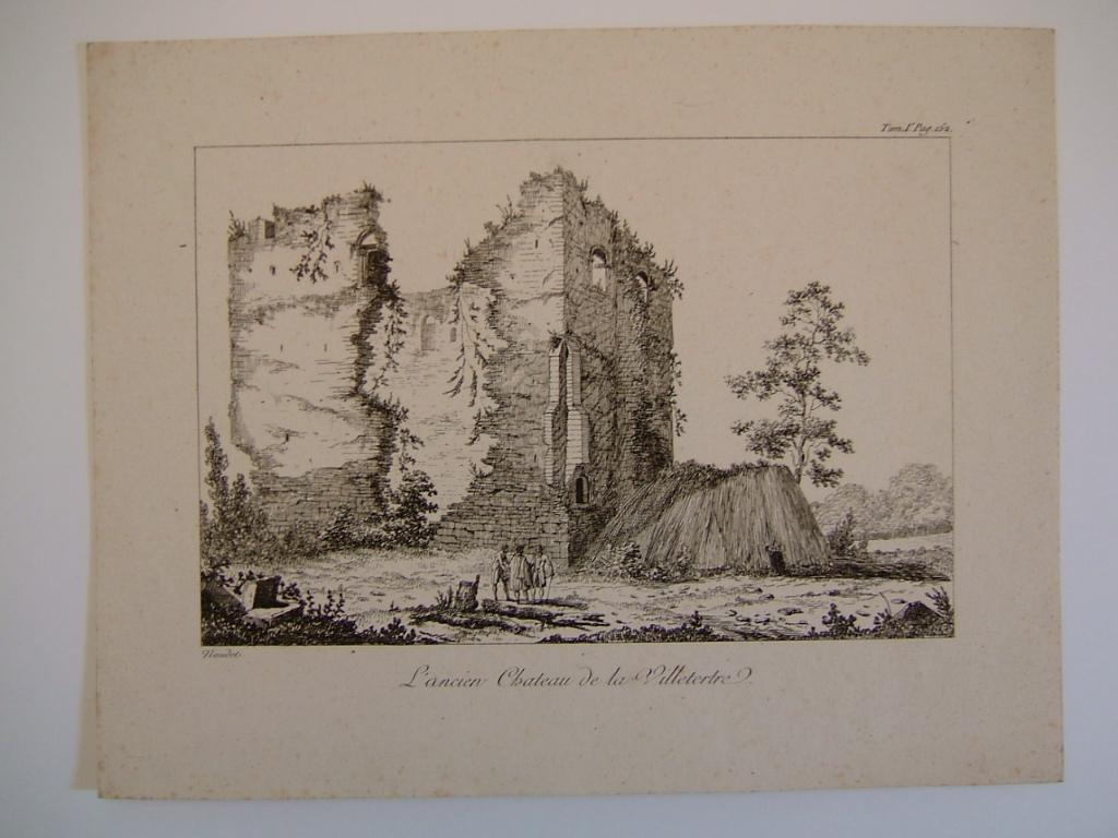 NAUDET : Ancien château de la Villetertre