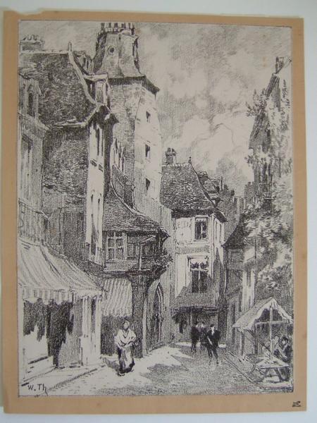 Une rue à Pontoise_0