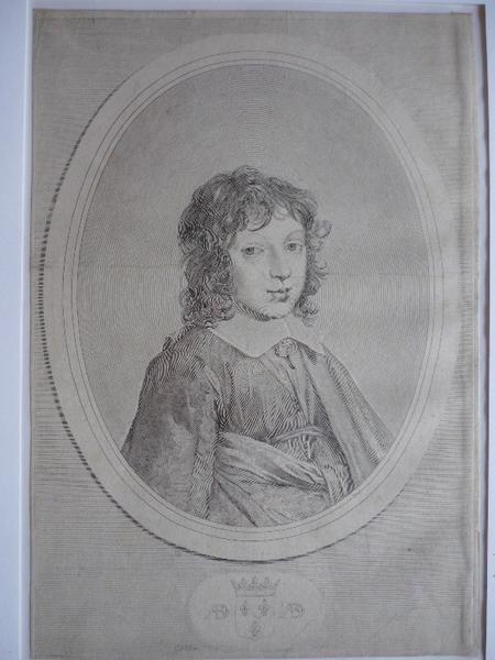 MELLAN Claude : Armand de Bourbon, prince de Conti (1629-1666)