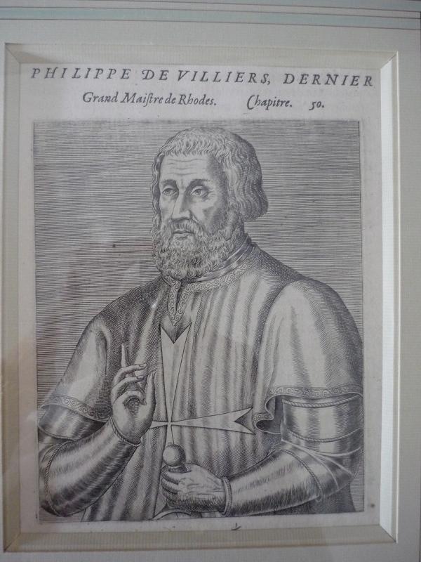anonyme : Philippe de Villiers, dernier grand Maître de Rhodes