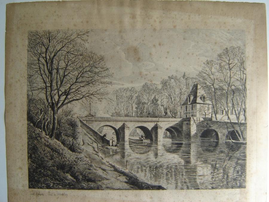 L'Isle-Adam, le Pont du Moulin_0