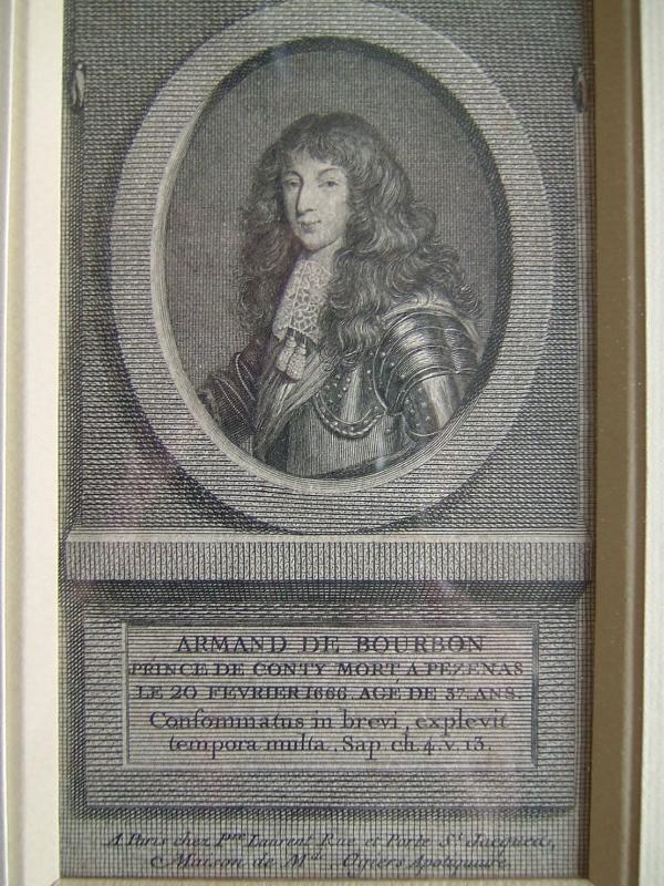 VANGELISTI Vincenzo : Armand de Bourbon, prince de Conty