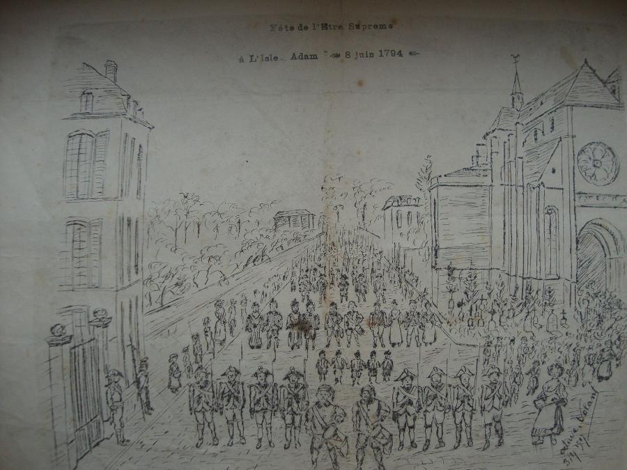 Fête de l'Etre Suprême à L'Isle-Adam le 8 juin 1794_0