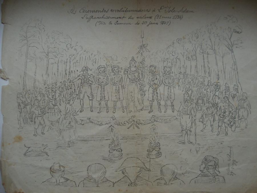 Les Cérémonies révolutionnaires à l'Isle Adam - L'affranchissement des esclaves (31 mars 1794) (voir le Semeur du 20 jan... 1907)_0