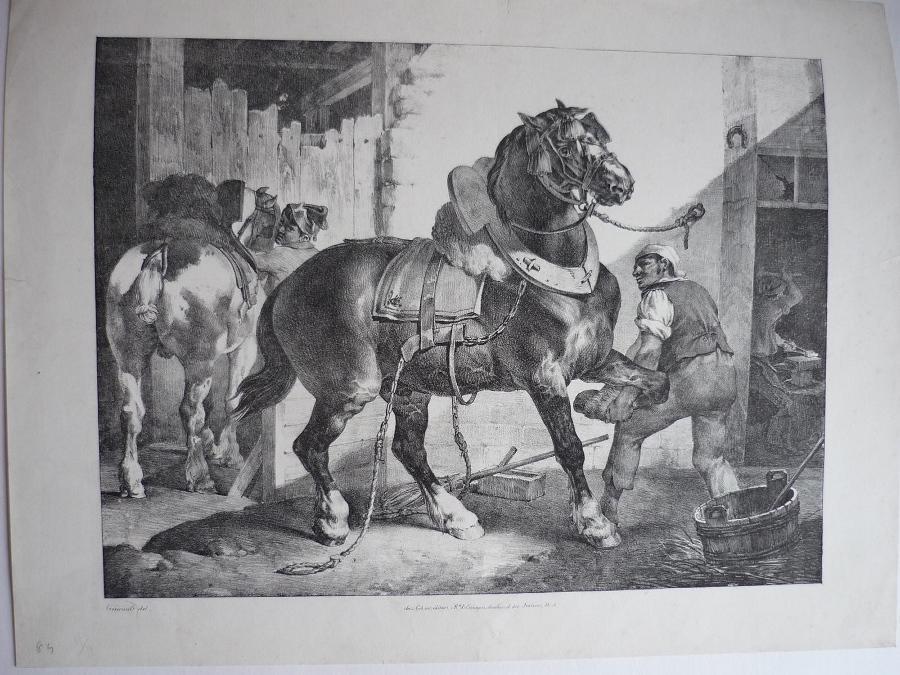 GERICAULT Théodore, COGNIET Léon : Le maréchal français