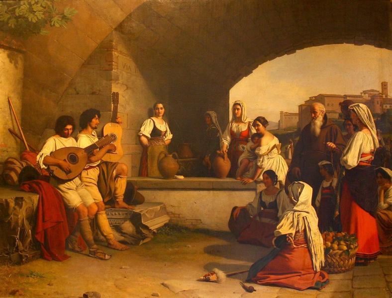 BODINIER Guillaume : Joueurs de luth
