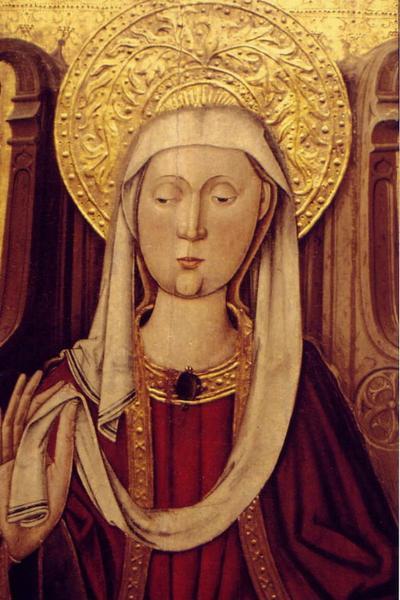 MAITRE DE FLORIDE : Saints, triptyque Spiridon (titre factice)