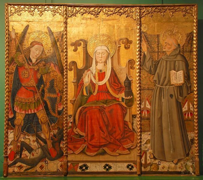 Saints, triptyque Spiridon (titre factice)_0