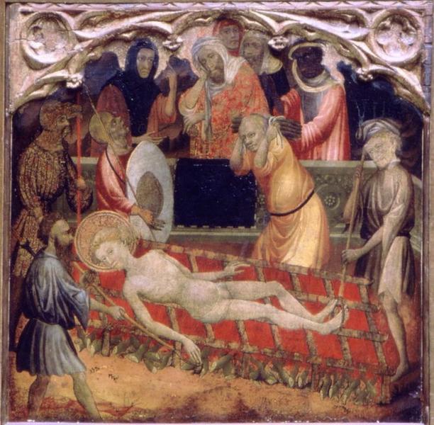 ALCANIS Miguel : Le martyre de saint Vincent