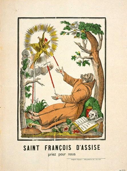 SAINT FRANCOIS D'ASSISE / priez pour nous (titre inscrit)_0