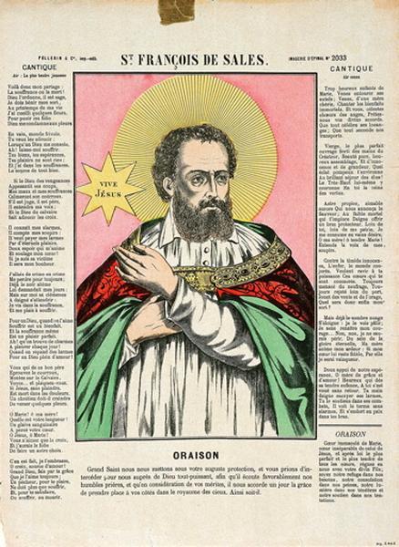 St. FRANCOIS DE SALES. (titre inscrit)_0