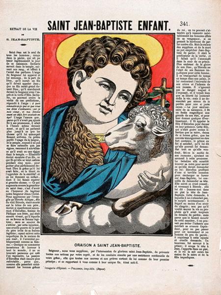 SAINT JEAN-BAPTISTE ENFANT. 341. (titre inscrit)_0