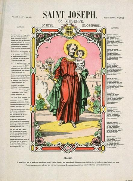 SAINT JOSEPH. (titre inscrit fr., it., esp., angl.)