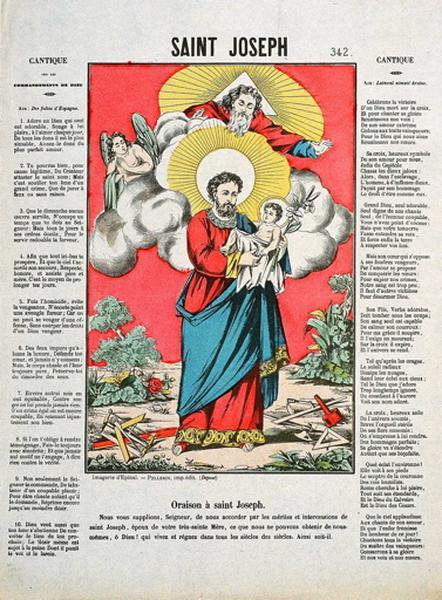 SAINT JOSEPH. 342. (titre inscrit)_0