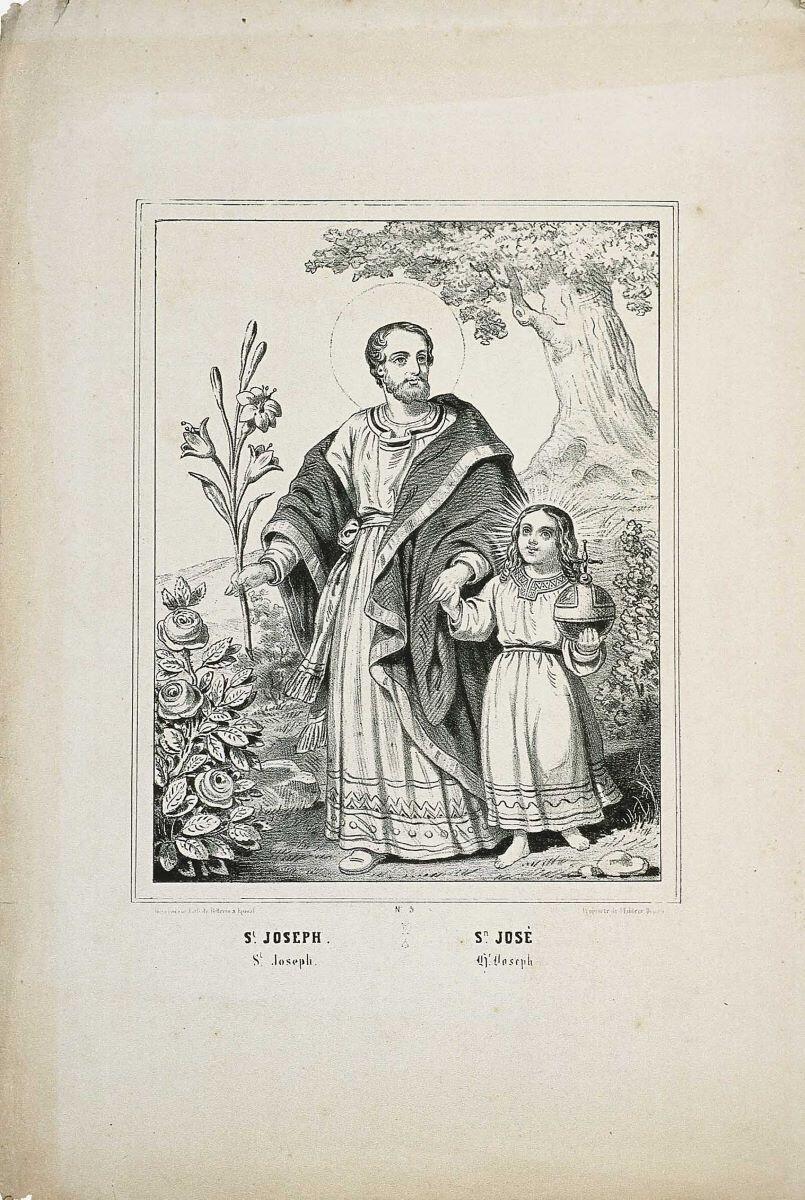 St. JOSEPH. (titre inscrit fr., esp., angl., all.)_0