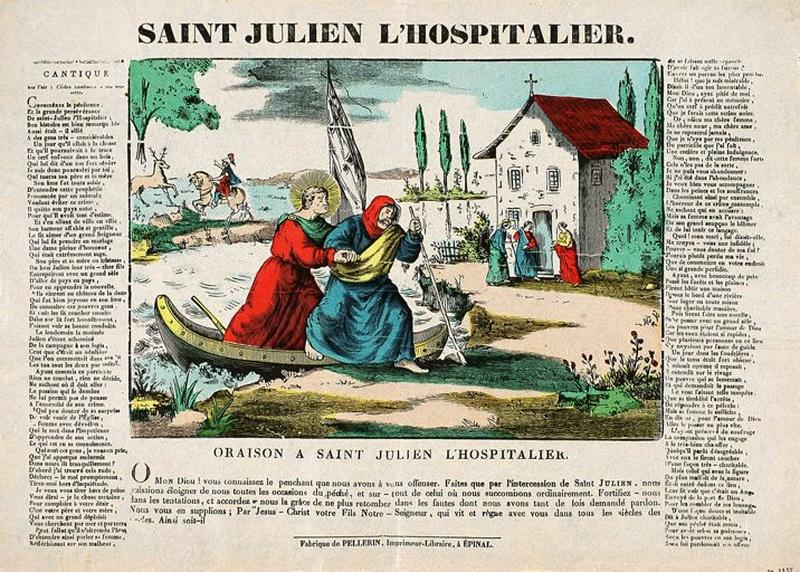 SAINT JULIEN L'HOSPITALIER. (titre inscrit)_0