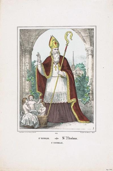 St NICOLAS. N°21. (titre inscrit fr., all., angl.)_0