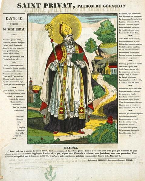 SAINT PRIVAT, PATRON DU GEVAUDAN. (titre inscrit)_0