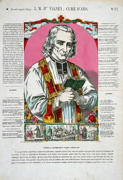 J.M.Bte VIANEY, CURE D'ARS. N°.77. (titre inscrit)_0