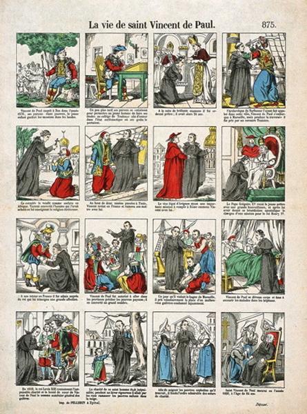 La vie de saint Vincent de Paul. 875. (titre inscrit)_0