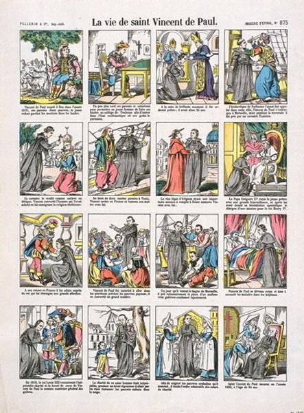 La vie de saint Vincent de Paul. (titre inscrit)_0