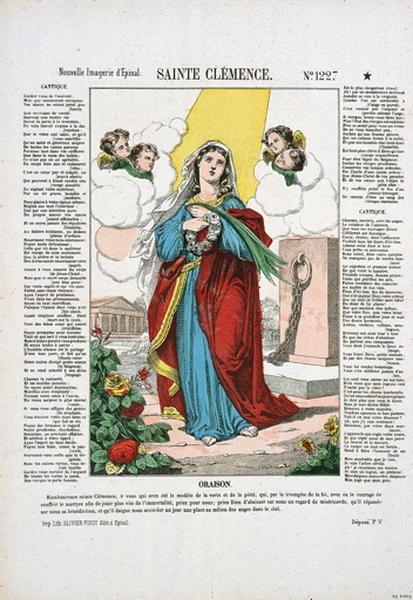 SAINTE CLEMENCE. N°.1227 (titre inscrit)