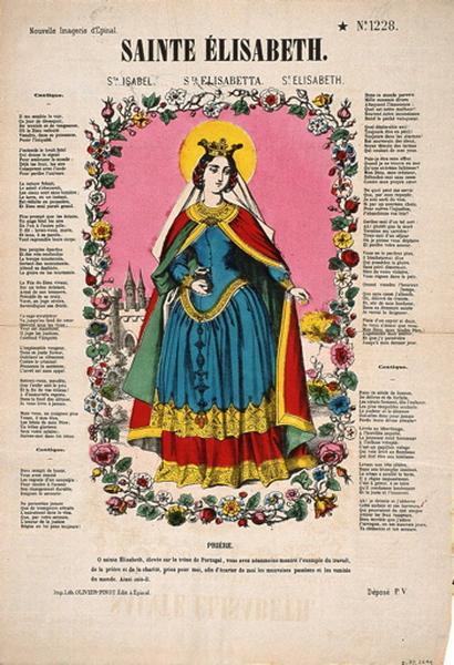 SAINTE ELISABETH. N°.1228. (titre inscrit fr., it., esp., angl.)_0