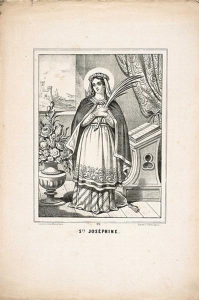 STE. JOSEPHINE. N°6 (titre inscrit)