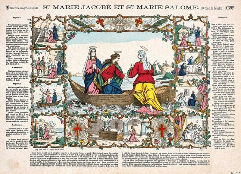 Ste. MARIE JACOBE ET Ste. MARIE SALOME. N°.392. (titre inscrit)_0
