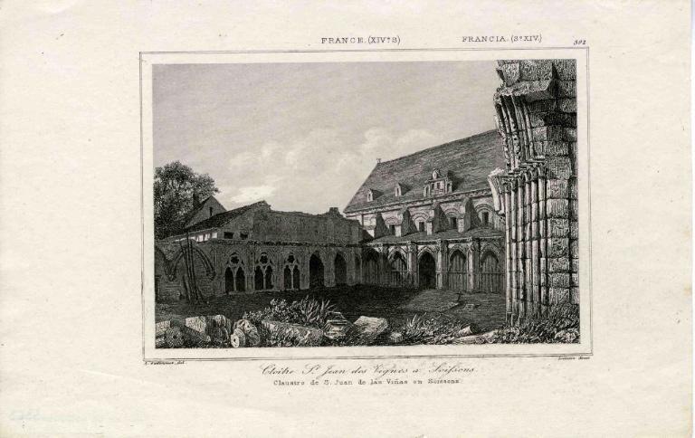 Cloître de Saint-Jean-des-Vignes en Soissons_0