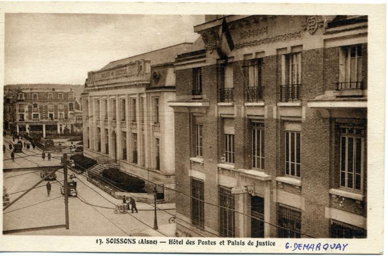 Soissons - Hôtel des postes et palais de justice_0