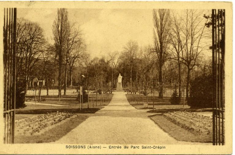 Soissons - Entrée du parc Saint-Crépin_0