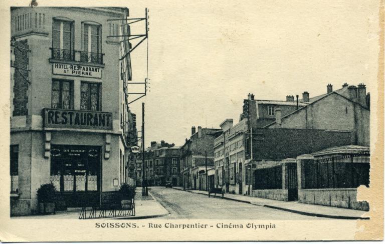 Soissons - Rue Charpentier - Cinéma Oympia_0