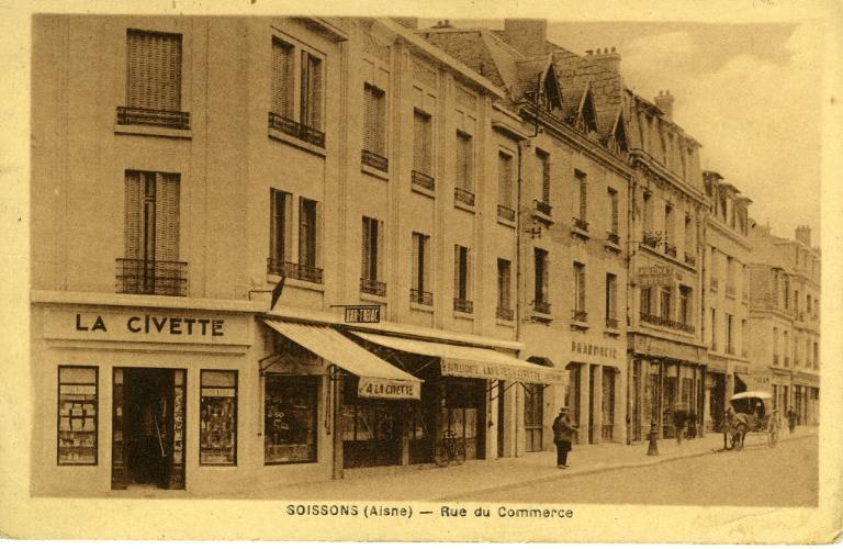 Soissons - Rue du commerce