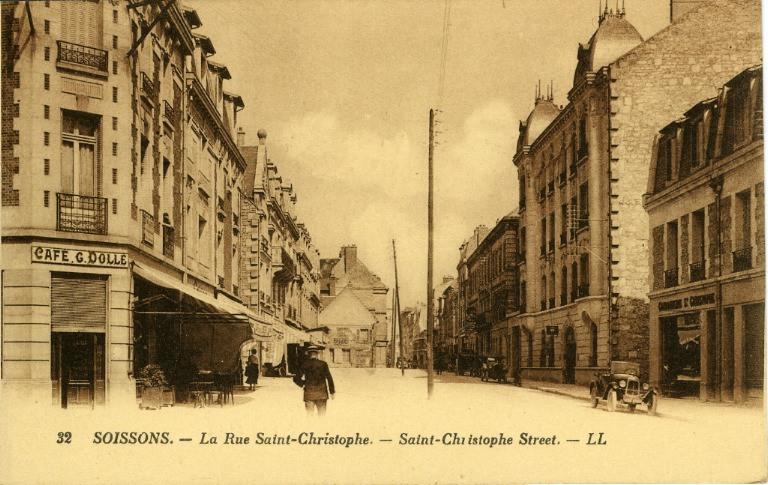Soissons - La rue Saint-Christophe_0