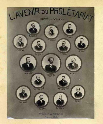 Soissons - Comité de Soissons - L'avenir du prolétariat
