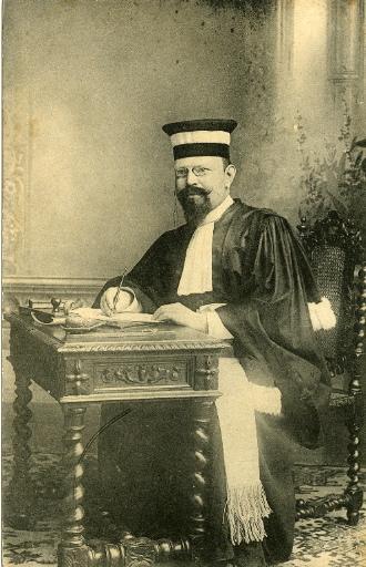 Soissons - Président du tribunal civil en 1913