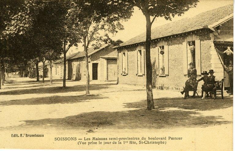 Soissons - Les maisons semi-provisoires du boulevard Jeanne d'Arc_0
