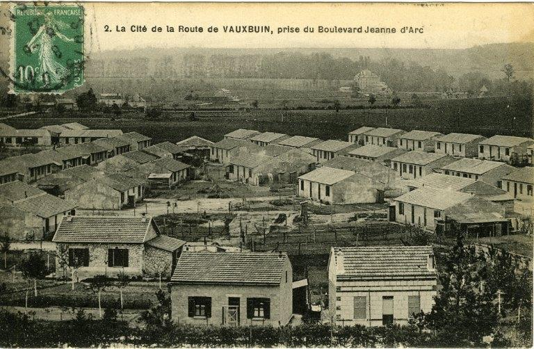 Soissons - La cité de la route de Vauxbuin, prise du boulevard Jeanne d'Arc_0