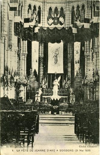 Soissons - La fête de Jeanne d'Arc à Soissons (31 mai 1909)_0