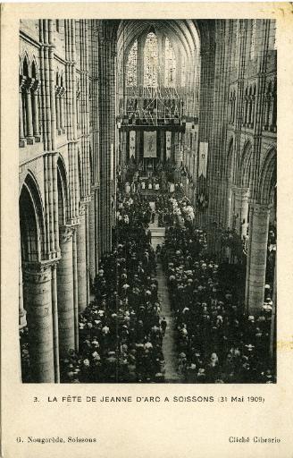 Soissons - La fête Jeanne d'Arc à Soissons (31 mai 1909)_0